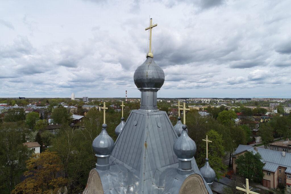 Tartu Aleksandri kiriku droonifoto 2