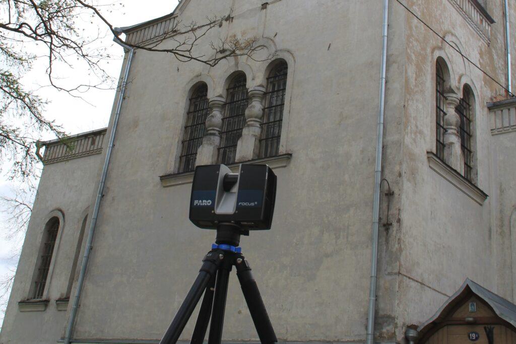 Tartu Aleksandri kiriku laserskaneerimine