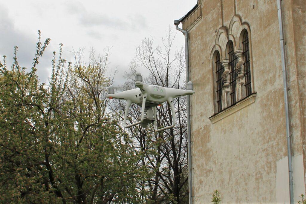 Tartu Aleksandri kiriku droonifoto 3