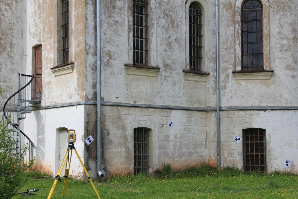 Tartu Aleksandri kiriku laserskaneerimine 2