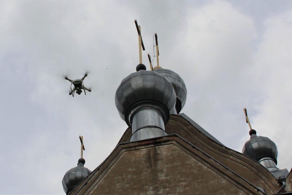 Tartu Aleksandri kiriku droonimõõdistus