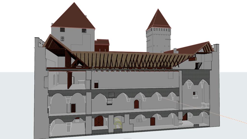 Kuressaare lossi 3D mudel