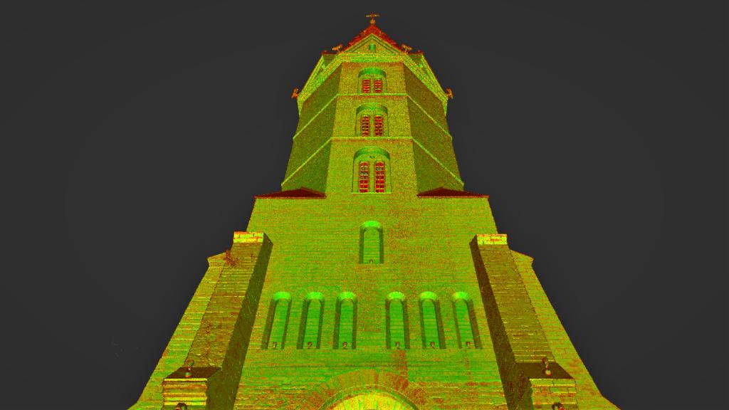 Narva Aleksandri kiriku punktipilv 2
