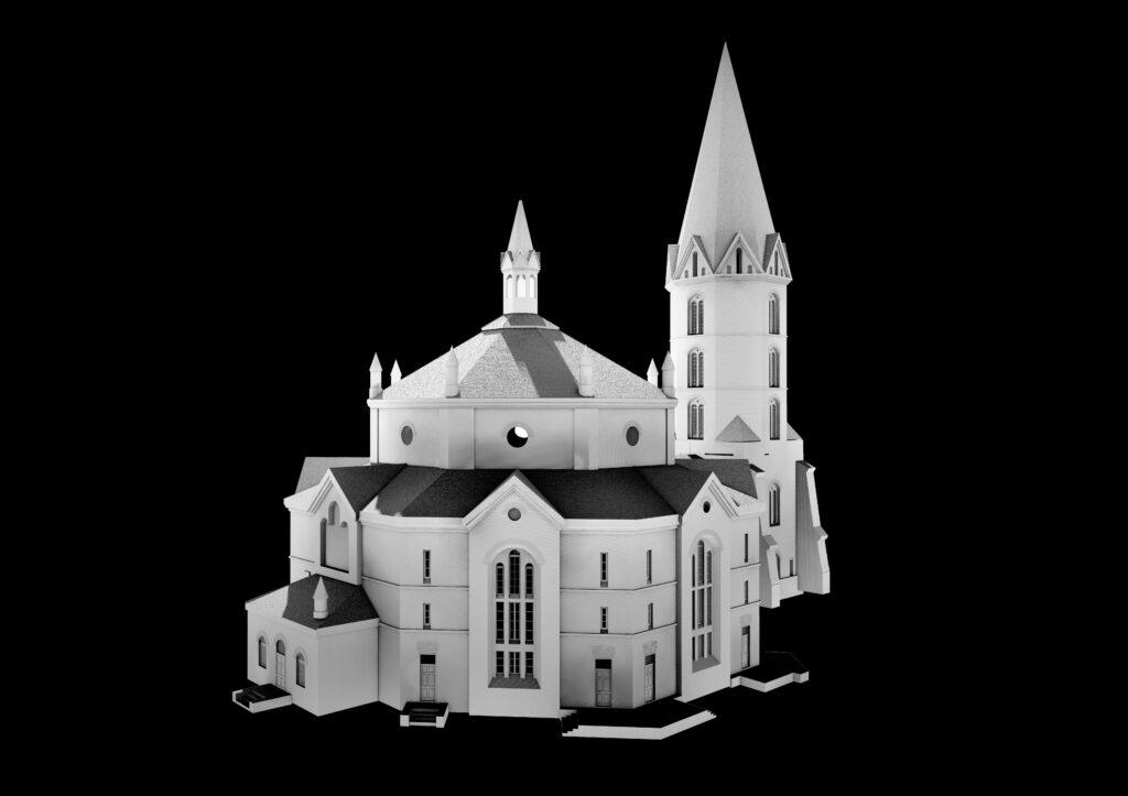Narva-Aleksandri-kirik-3D-mudel
