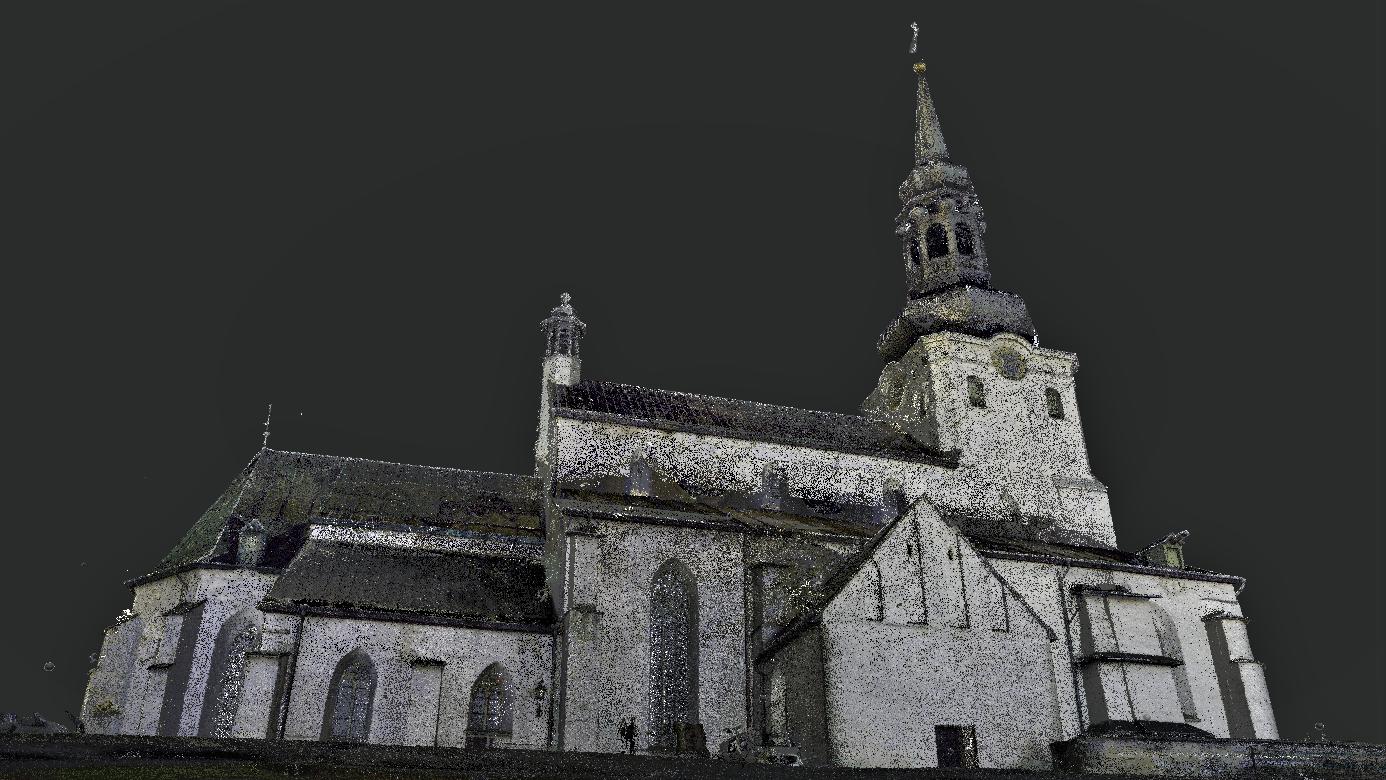Tallinna_Toomkirik_Laserskaneerimine