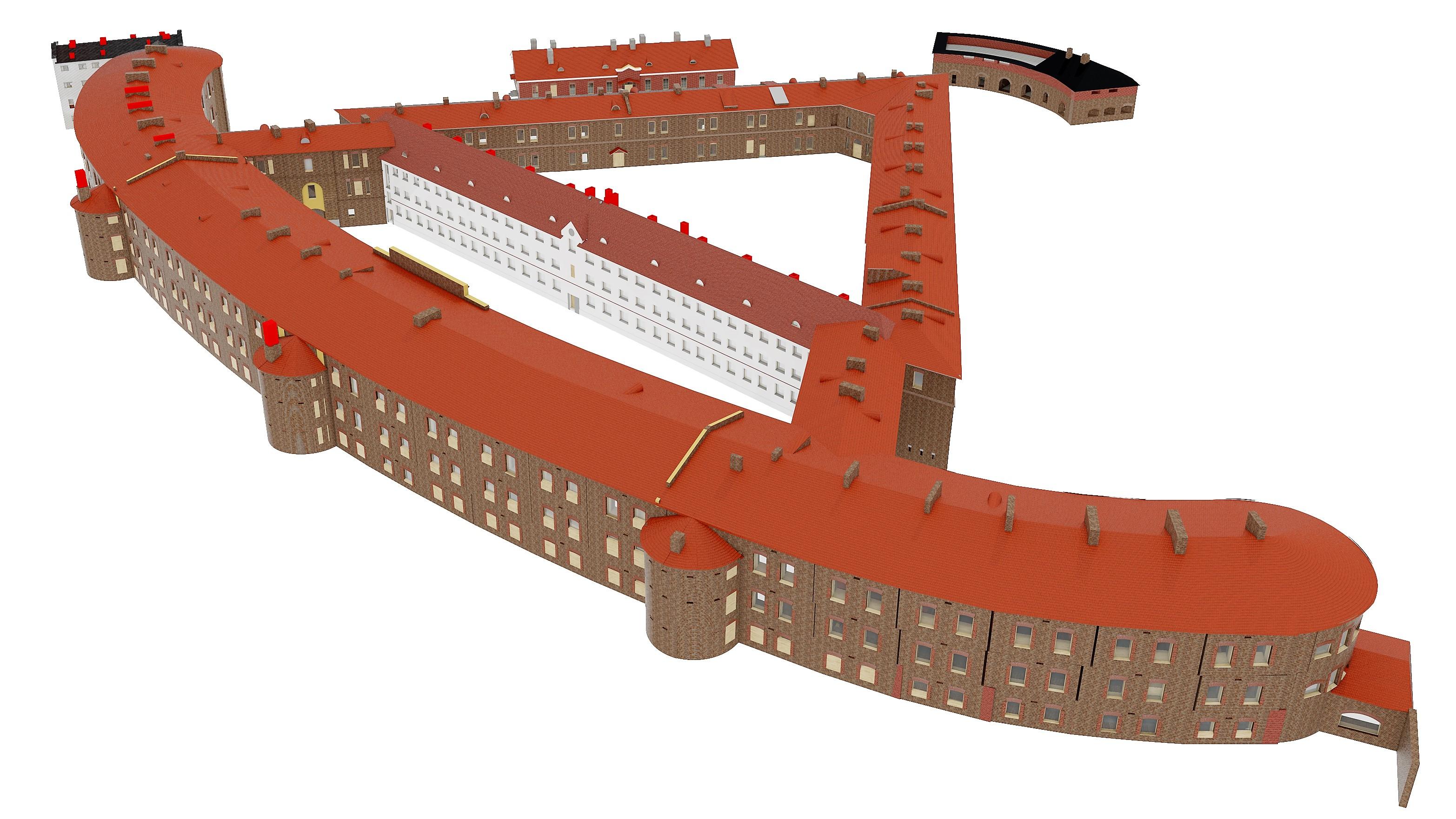 Patarei-3D-mudel